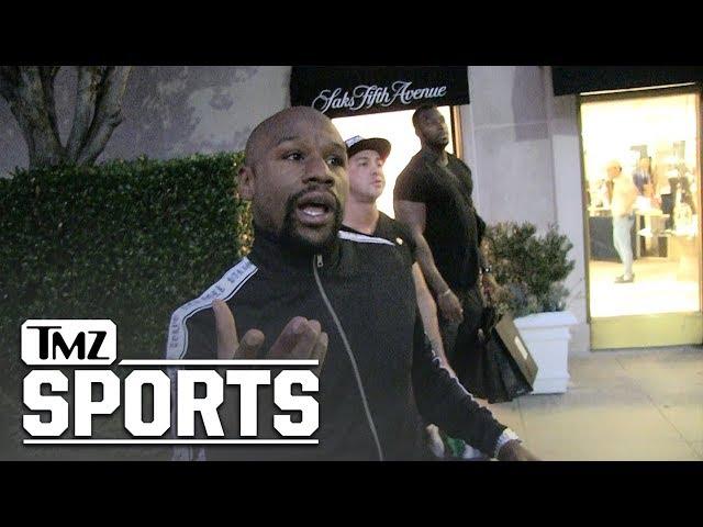 Floyd Mayweather 'Definitely' Boxing Khabib, 'I'll Get 9-Figures' | TMZ Sports