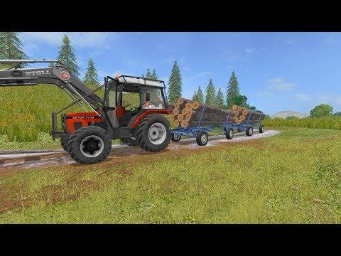 Transporting timber | Wellcome to Slovenia | Farming Simulator 2017 | Episode 17