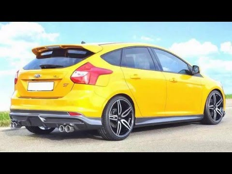 2017 ford focus st premium cars full review youtube. Black Bedroom Furniture Sets. Home Design Ideas