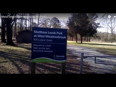 #6 Metal Detecting in Greenville, NC Parks