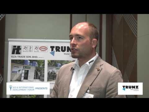 Trunz Interview - AIDF Water Security Summit Asia 2014