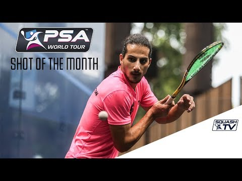 Squash: Shot of the Month - September 2017 - The Contenders