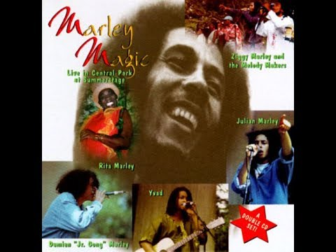 Marley Magic  Live in Central Park at Summerstage  July 7, 1996