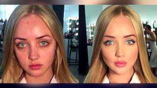 Как женщины обманывают мужчин! 10 девушек до и после макияжа