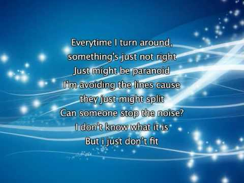 Jonas Brothers - Paranoid, Lyrics In Video