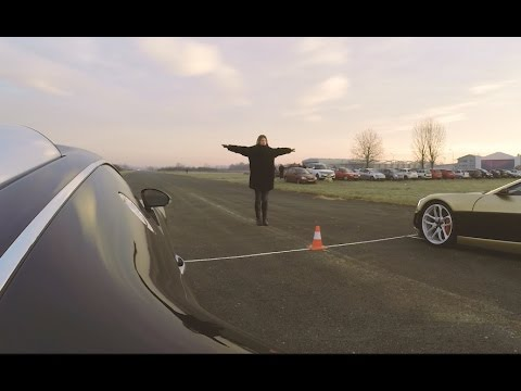 Bugatti Veyron vs Rimac Concept_One drag race!