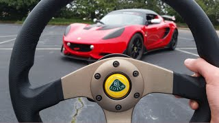 2014 Lotus Elise S Cup R: Start Up, Exhaust, Test Drive and Review