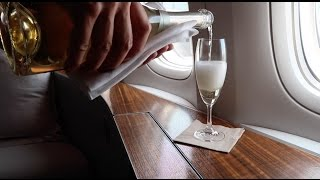 upgraded to first class on cathay pacific hong kong vlog day 1