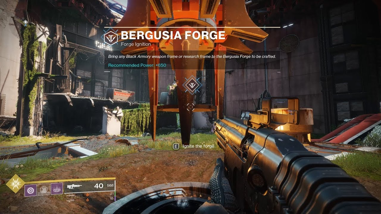 Destiny 2 Bergusia Forge - How to Unlock and Complete