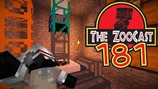 Minecraft Jurassic World (Jurassic Park) ZooCast - #181 Quarrying Underneath The Visitors Centre!