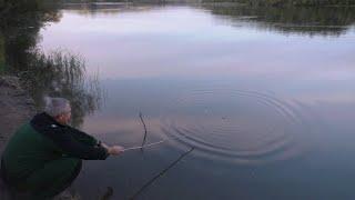 рыбалка на реке Чулым сало костёр сосиски