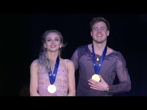 Российские фигуристы В.Синицина и Н.Кацалапов завоевали золото в соревнованиях танцевальных дуэтов.