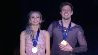 Российские фигуристы В Синицина и Н Кацалапов завоевали золото в соревнованиях танцевальных дуэтов