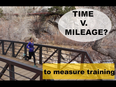 RUNNING TIME V. MILEAGE ? A Sage Running Training Talk