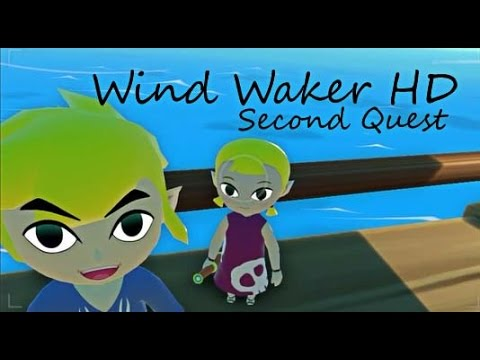 Wind Waker HD Walkthrough: Second Quest - Outset Island - A New Story - Part 1.