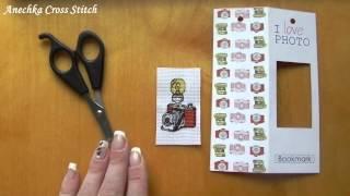 Вышивка крестом: Закладка с частичной вышивкой от Luca-S - Процесс сборки. Как сделать закладку.
