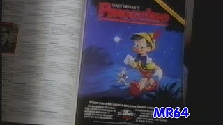 """Pinocchio"" Promotional Preview / Sales Tape -1985 (DVD Quality)"