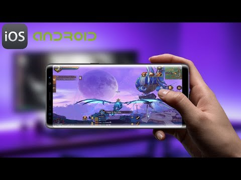 World of Prandis (Non-Auto Real MMORPG) Android Gameplay