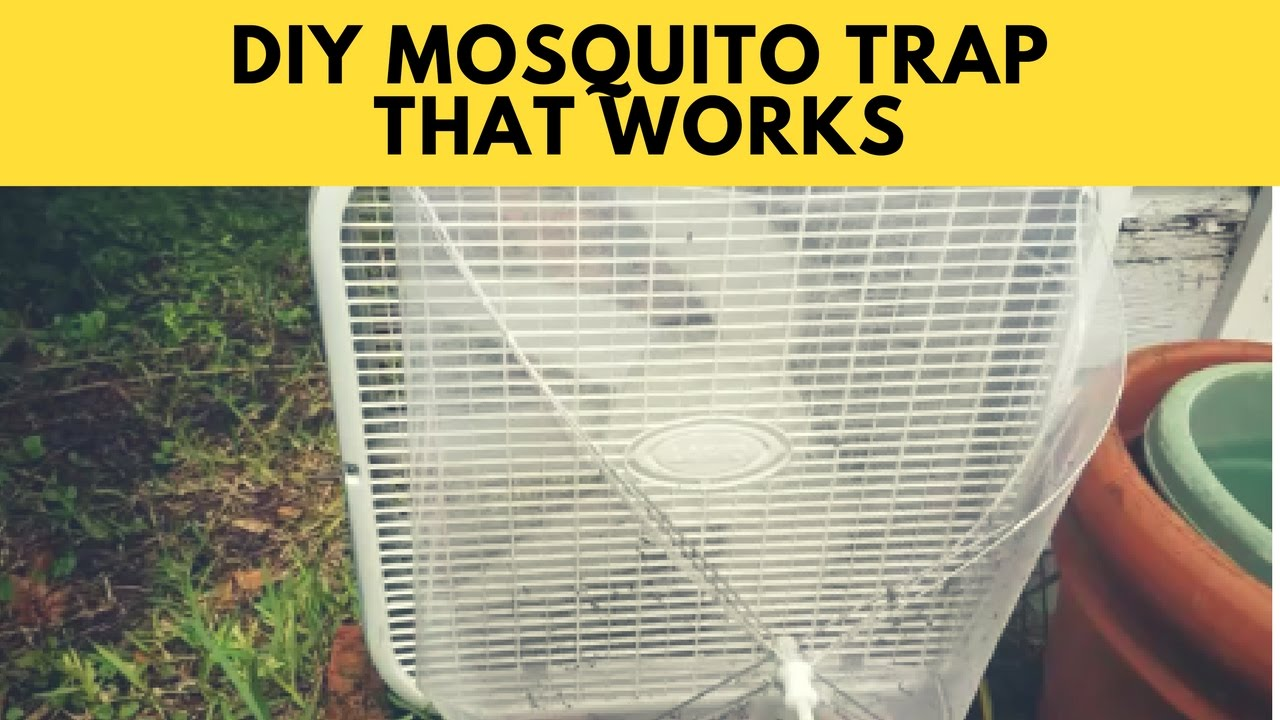 How To Make A Mosquito Trap With A Box Fan And Food Net For Less