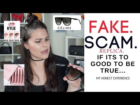 My CELINE Sunglasses FAIL!! FAKES!! SCAMS!! |Jerusha Couture