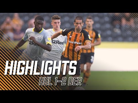 Hull City 1-2 Derby County   Highlights
