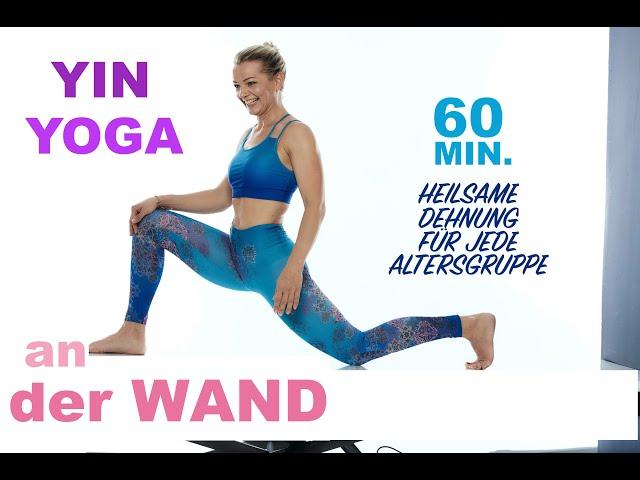Yin Yoga an der Wand| Heilsame Dehnung für jede Altersgruppe| Faszien Yoga| Gesund, Fit & Flexibel