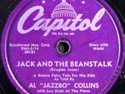 Al jazzbo collins jack and the beanstalk book