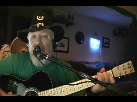 Tombstone Every Mile - Dick Curless cover by Jeff Cooper Martin OM Negative