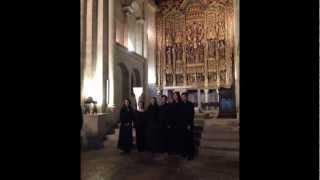 Grupo Vocal Olisipo sings Introitus from Manuel Cardoso