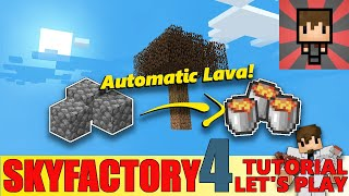 [SKYFACTORY 4] SPECIAL #01 - HOW TO AUTOMATE LAVA (HELP/TUTORIAL)