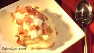 Paleo Mashed Potatoes (cauliflower) By Paleo Nate