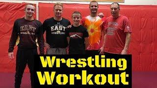 Wrestling Practice/Workout (ALL 5 HENSCHELS)