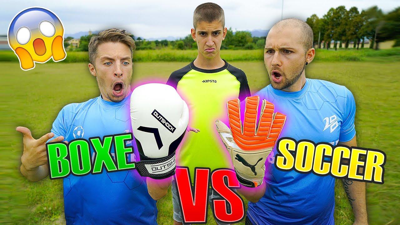 Guanti da BOXE VS Guanti da PORTIERE - Il nostro COURTOIS Test Calcio