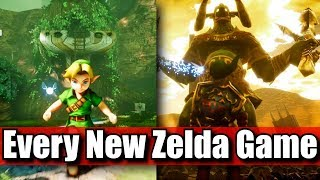 New Zelda Games in 2018 2019 & 2020