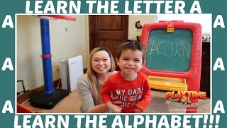 Learn the Letter A | Learn the Alphabet With Parker