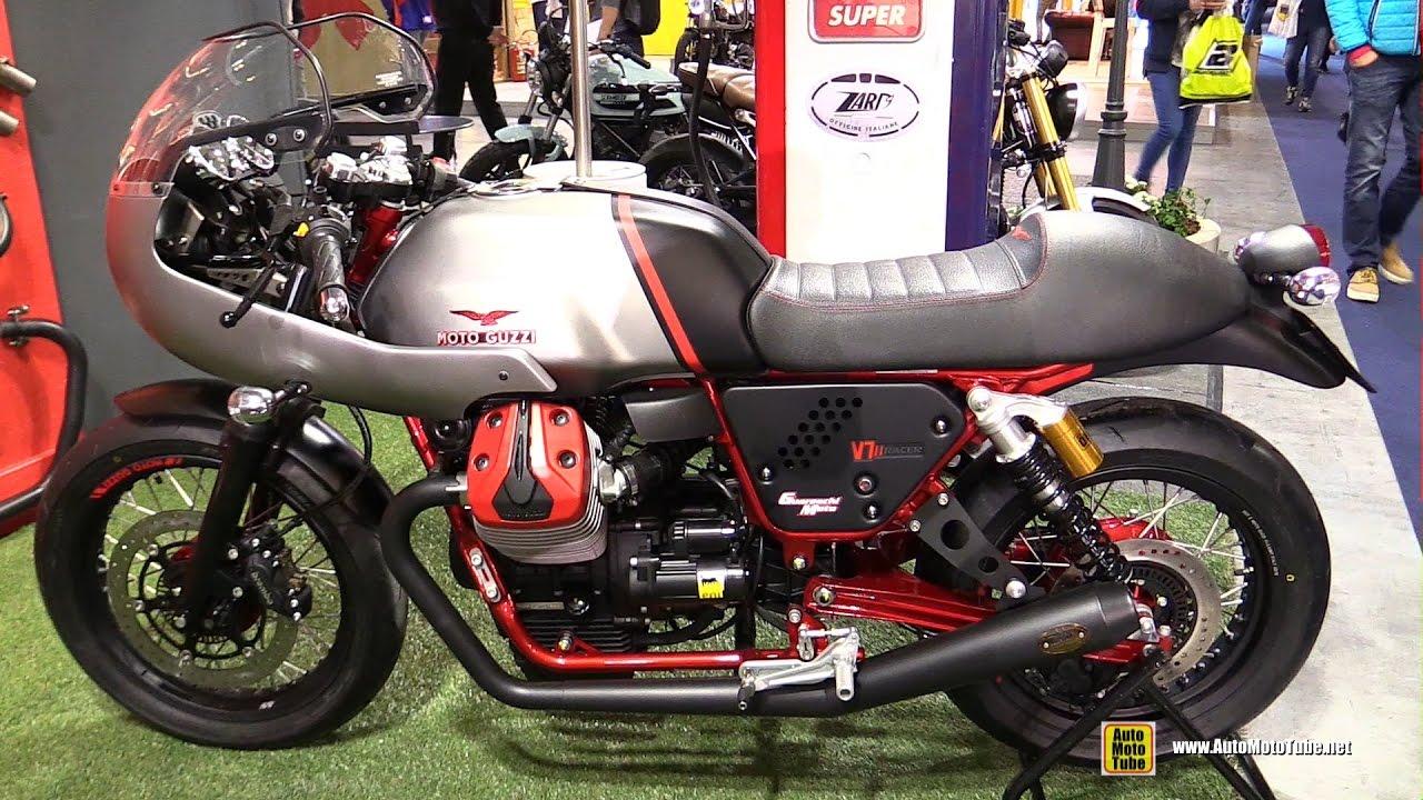 2016 moto guzzi v7 ii racer with zard exhaust walkaround. Black Bedroom Furniture Sets. Home Design Ideas