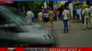 Maratha protests on a rampage in Pune