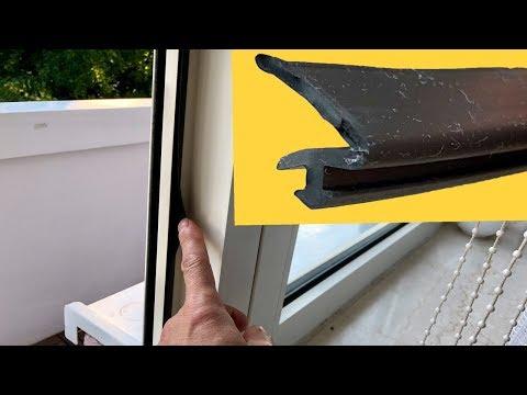 Fensterdichtung Erneuern - Heizkosten Sparen