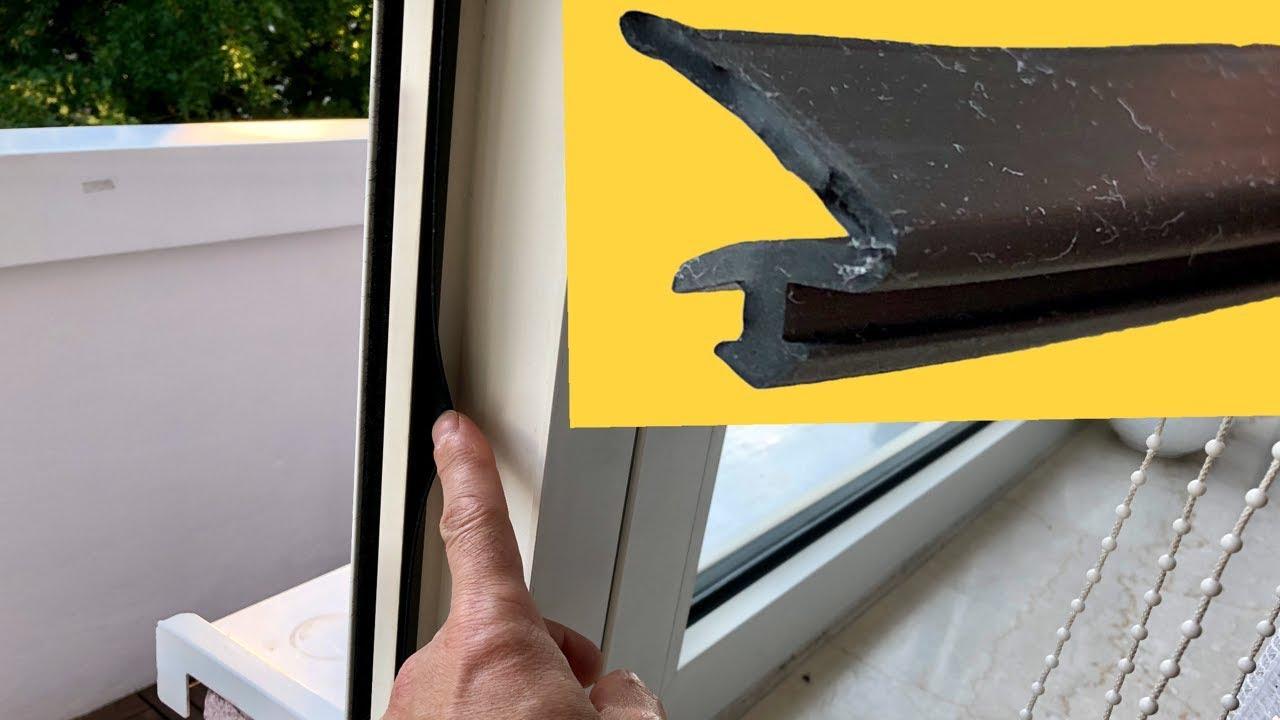 Gut gemocht Fensterdichtung erneuern - YouTube NU65