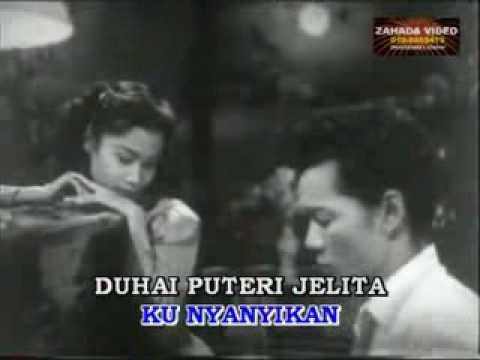 """TIDURLAH WAHAI PERMAISURI - Karaoke versi filem """"Putus Harapan"""" (1953)"""