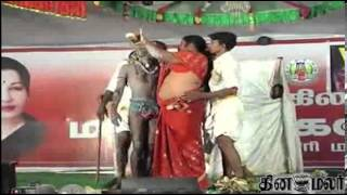 Sexy Dance on Stage in Krishna Giri - Dinamalar News