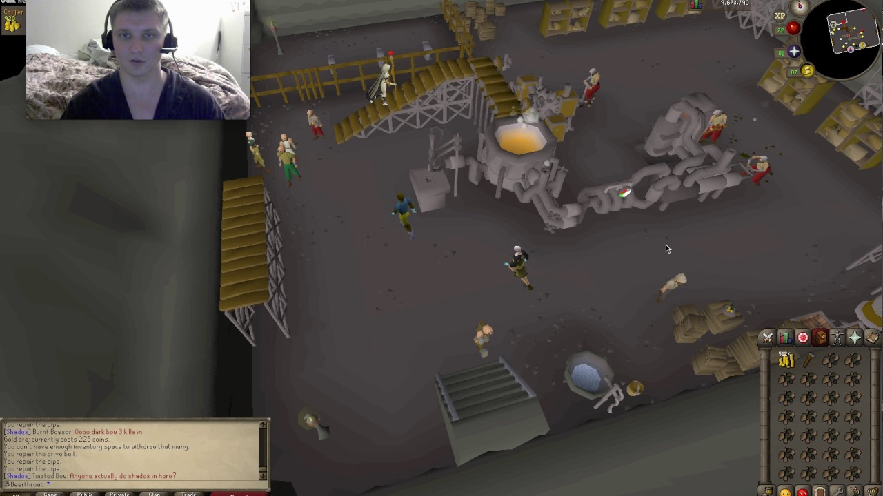 new osrs blast furnace guide for ironman youtube