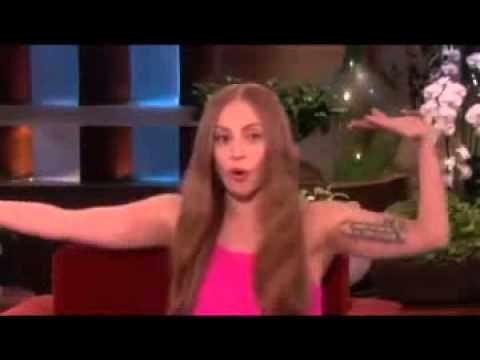 Lady Gaga Talks Taylor Kinney on Ellen