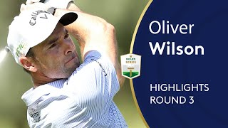 Oliver Wilson makes move with 65 in Sun City | Round 3 Highlights | Nedbank Golf Challenge / Видео