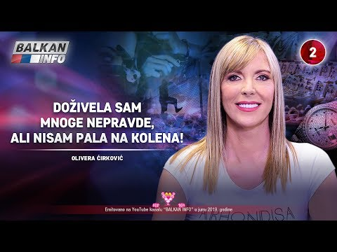INTERVJU: Olivera Ćirković - Doživela sam mnoge nepravde, nikada nisam pala na kolena! (29.6.2019)