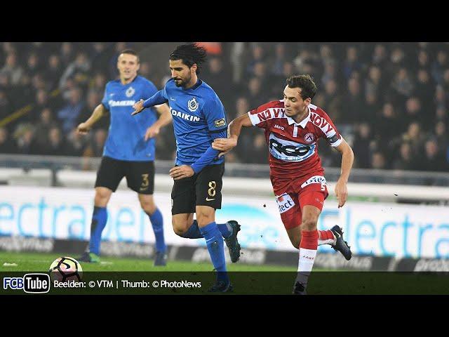 2016-2017 - Jupiler Pro League - 19. Club Brugge - KV Kortrijk 5-1