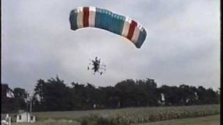 Powered parachutes homemade stalls and falls