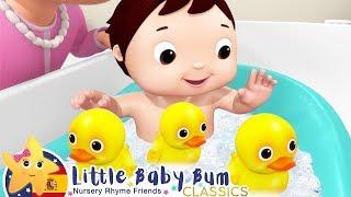 Download Canciones Infantiles | Canción del Baño con Patitos | Dibujos Animados | Little Baby Bum en Español Mp3 and Videos
