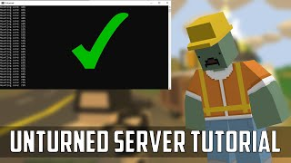 How to create aฑ Unturned Server in 2021   Unturned Mutliplayer with friends