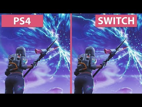 Fortnite – PS4 Vs. Switch Frame Rate Test & Graphics Comparison